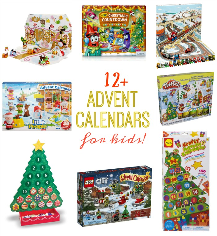 From Little People to Thomas the Train and Barbie to Melissa and Doug, here are over a dozen fun and interactive advent calendars for kids this holiday season!