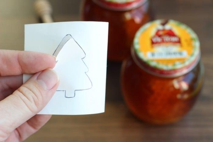 Etched Honey Jars