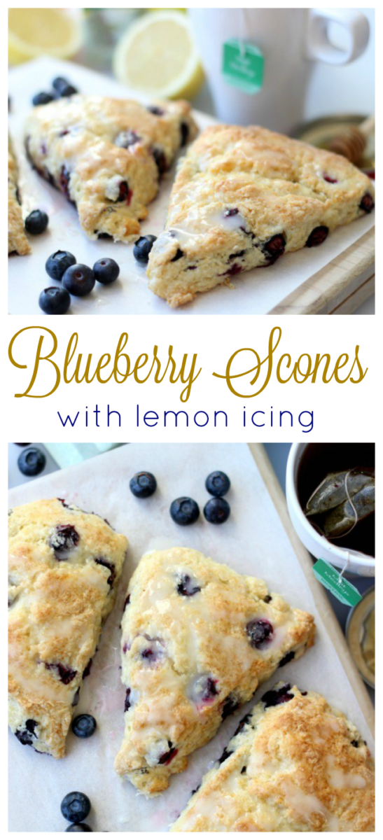Blueberries, freshly squeezed lemons, and cold butter are the key ingredients to this deliciously light and fluffy blueberry scones recipe. Perfect to enjoy with a cup of herbal tea on a cold morning!