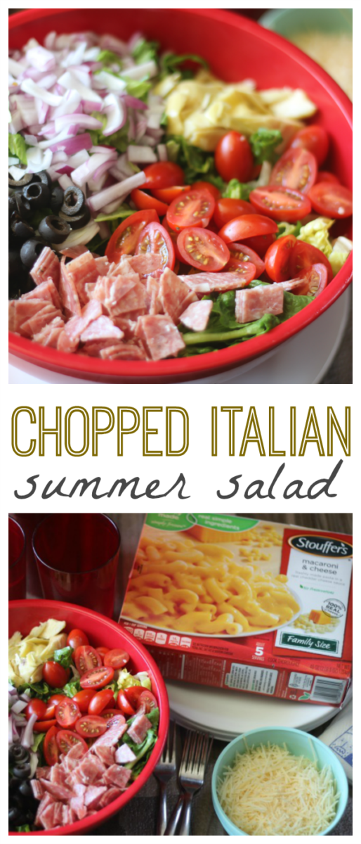 Chopped Italian Summer Salad