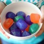 bowl of finished gem soaps