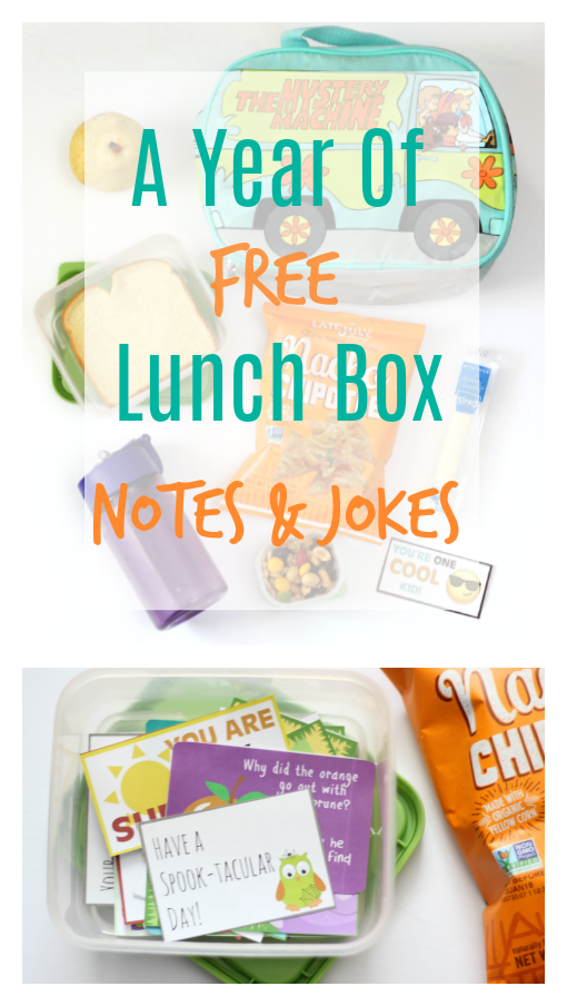 Add a smile to your child's face with these goofy printable lunch box jokes that are perfectly sized to slip into their lunch box for a fun surprise!