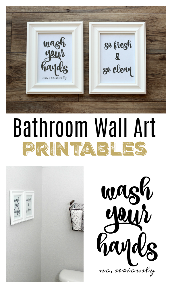 picture regarding Free Printable Wall Art for Bathroom referred to as Toilet Wall Artwork Totally free Printables in direction of Smoothly Print and Cling