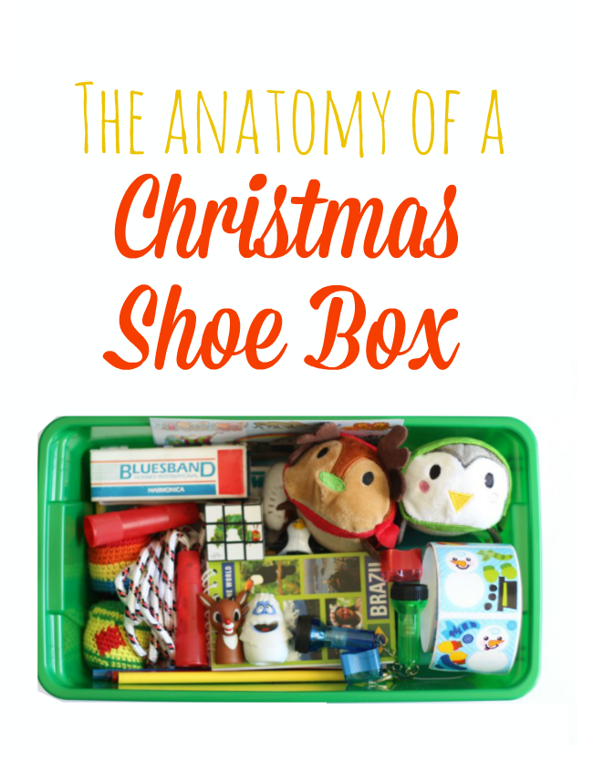 You've probably heard about families and church congregations packing shoe boxes for Christmas. Have you ever wondered what that meant? Ever wondered what goes inside an Operation Christmas Child shoebox?