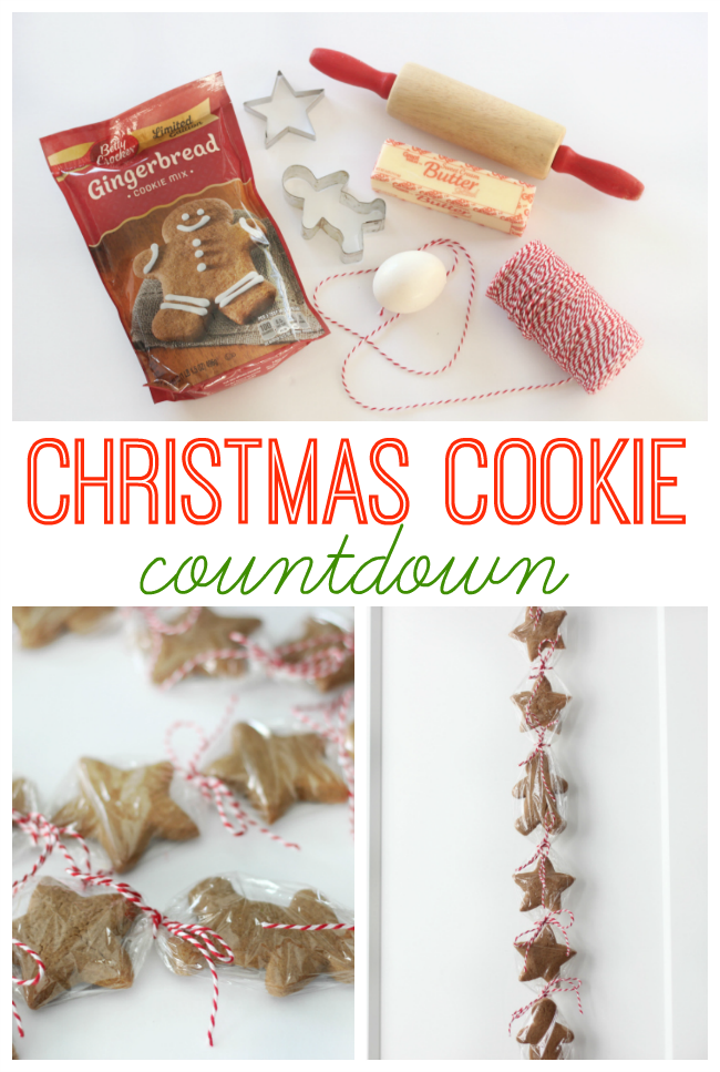 Christmas cookie countdown, diy advent