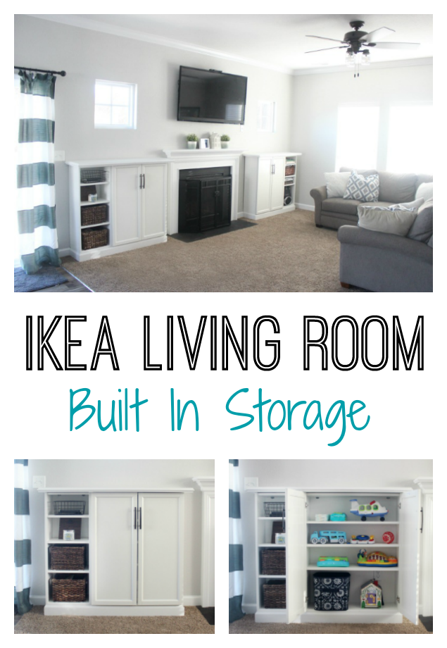 Ikea Built Ins For Storage Create A Wall Of Built Ins To Maximize