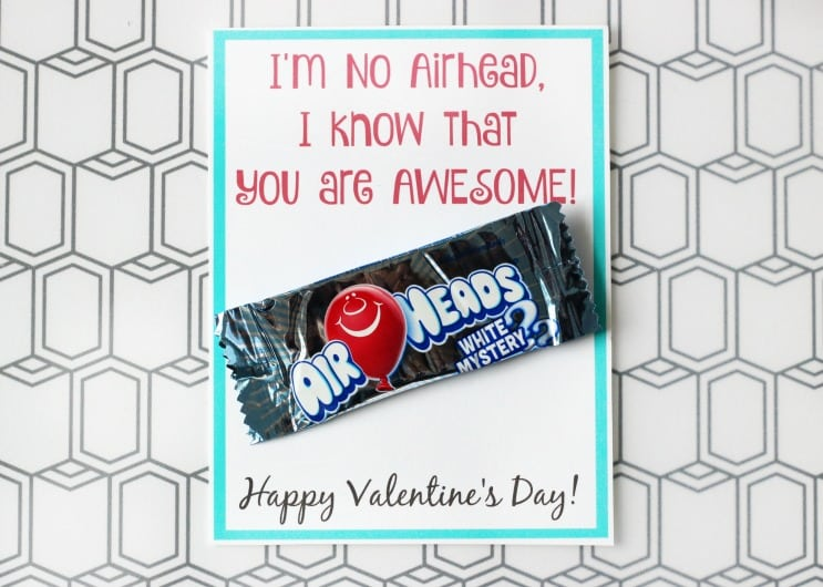 air heads valentine's day card