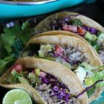 Slow cooker carnitas street tacos take less than 30 minutes to prepare. Let the pork slow cook all day for a quick and easy weeknight dinner!