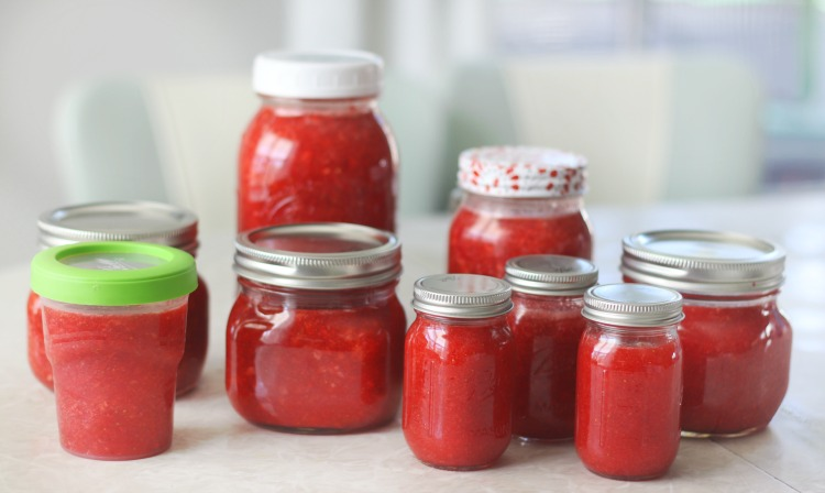best jars and containers for freezer jam