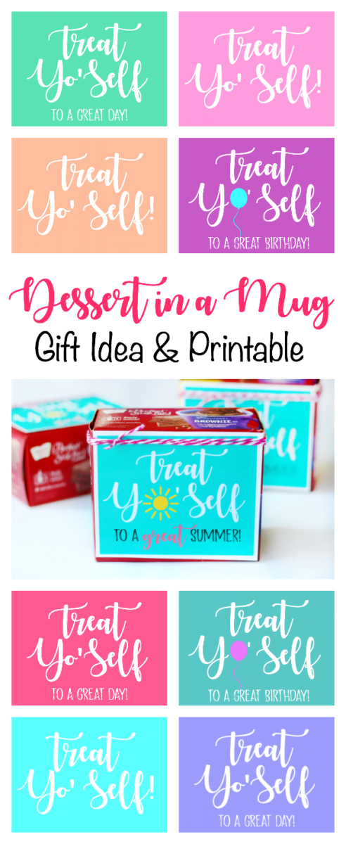picture about Printable Tag identify Dessert within just a Mug Trainer Reward With Printable Tag: Exceptional Closing
