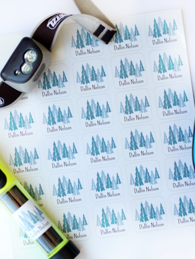 Keep tabs on your children's belongings with personalized labels! Perfect for school supplies, travel organization, and summer camps!