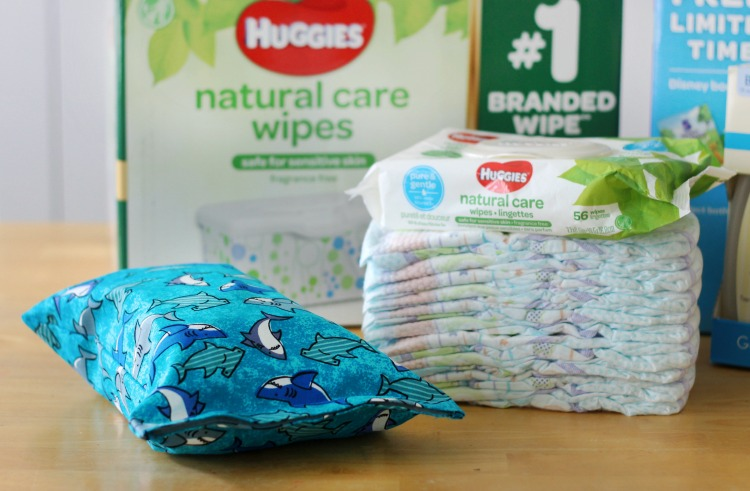 This DIY diaper changing clutch is an easy 15-minute sewing project. It holds 3 diapers, a package of wipes, and even has room for diaper cream or other small items! Every mom needs one so make a few to keep on hand as baby shower gifts!