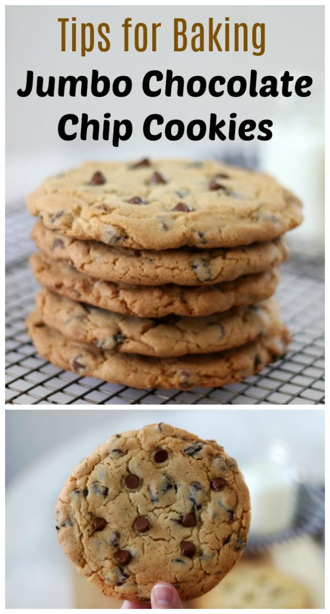 Jumbo Chocolate Chip Cookies Video Gluesticks Blog