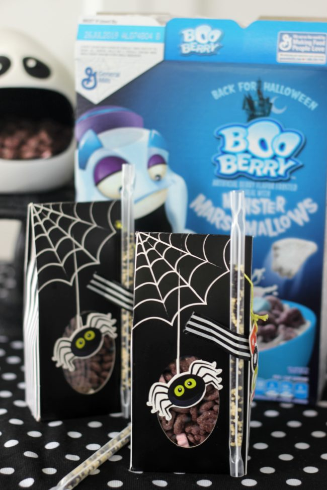 halloween cereal treat boxes