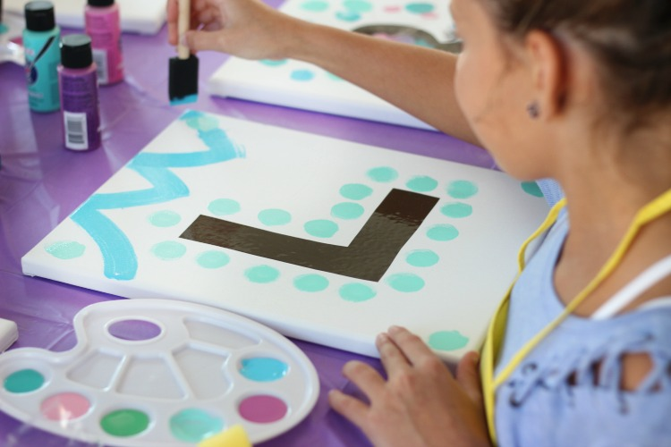 Painting Party For Kids: A fun and creative birthday idea