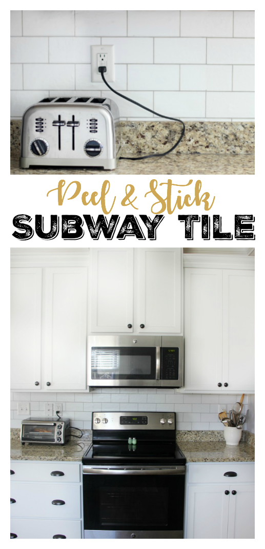 Peel And Stick Subway Tile Backsplash It S Wallpaper Gluesticks Blog