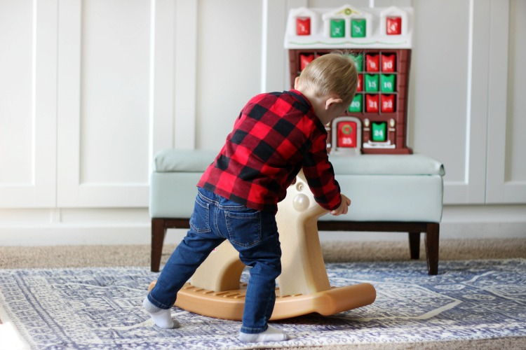 his darling Step2 Rudolph the Rocking Reindeer is just right for imaginative play this holiday season. Win one for the toddler in your home by leaving a comment!