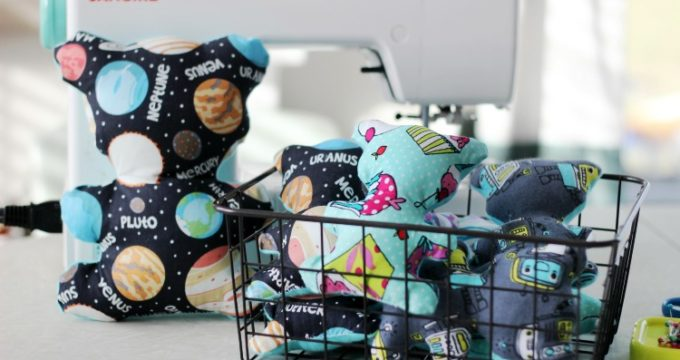 Teddy Bear Pattern and Sewing Tutorial For Kids!
