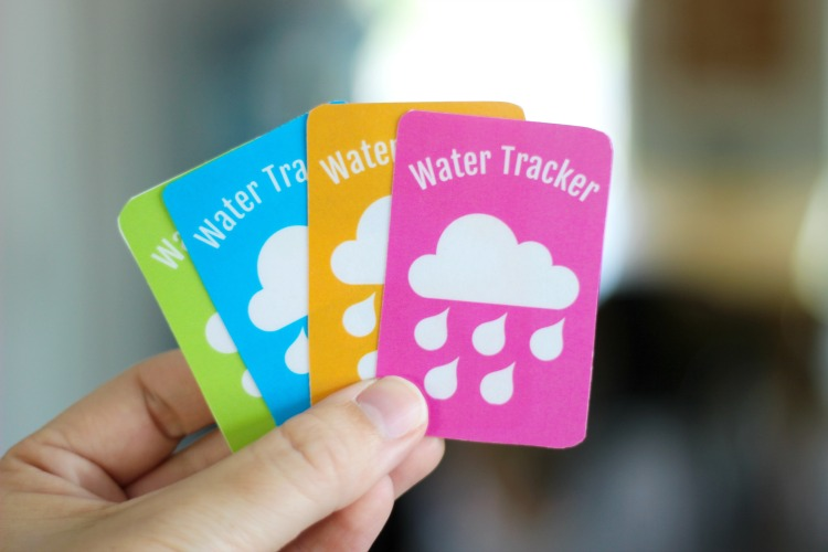 printable water tracker magnets
