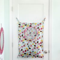kids laundry bag sewing tutorial