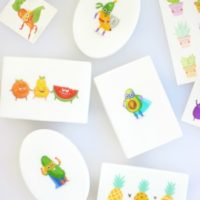 temporary tattoo soap