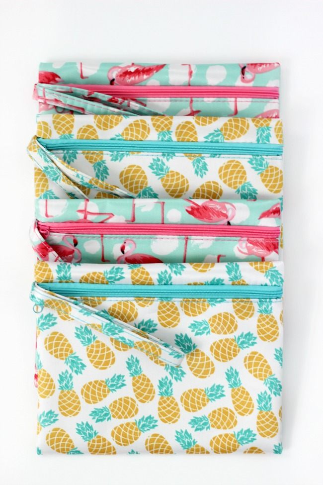 cosmetic bags for back to school survival kits