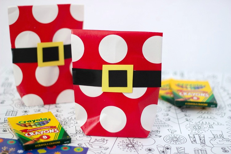 make your own gift bags out of wrapping paper