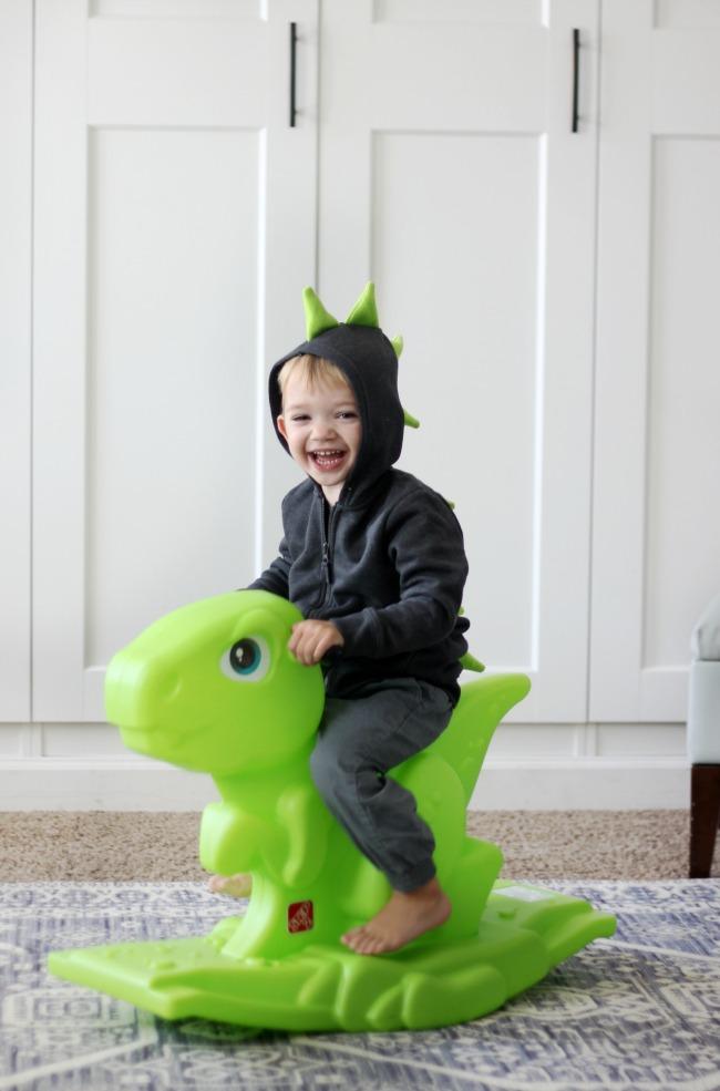 1 hour dinosaur hoodie tutorial