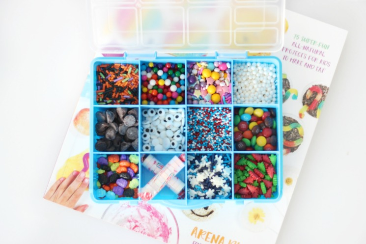 edible crafts for kids gift idea sprinkles box and craft book