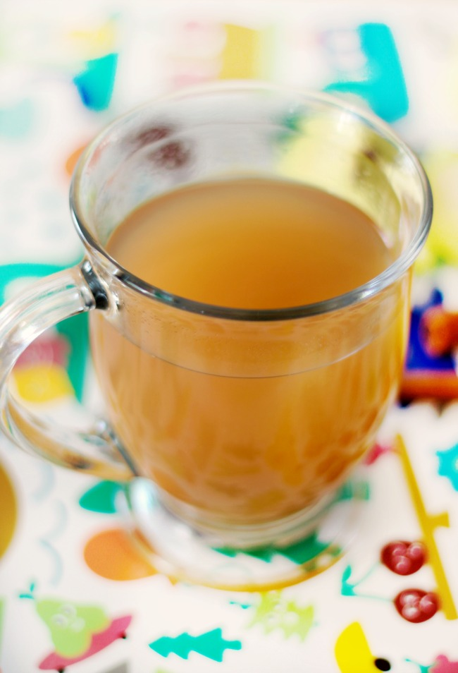 apple cider in mug