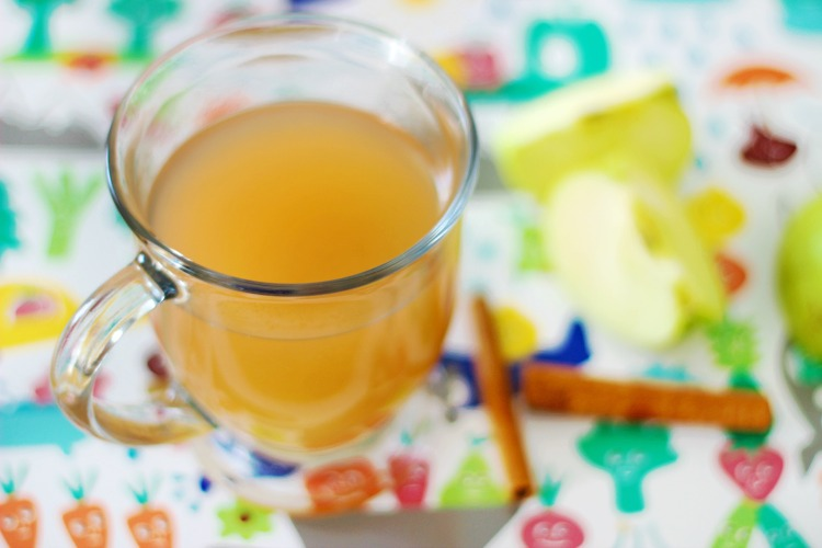 instant pot apple cider in mug