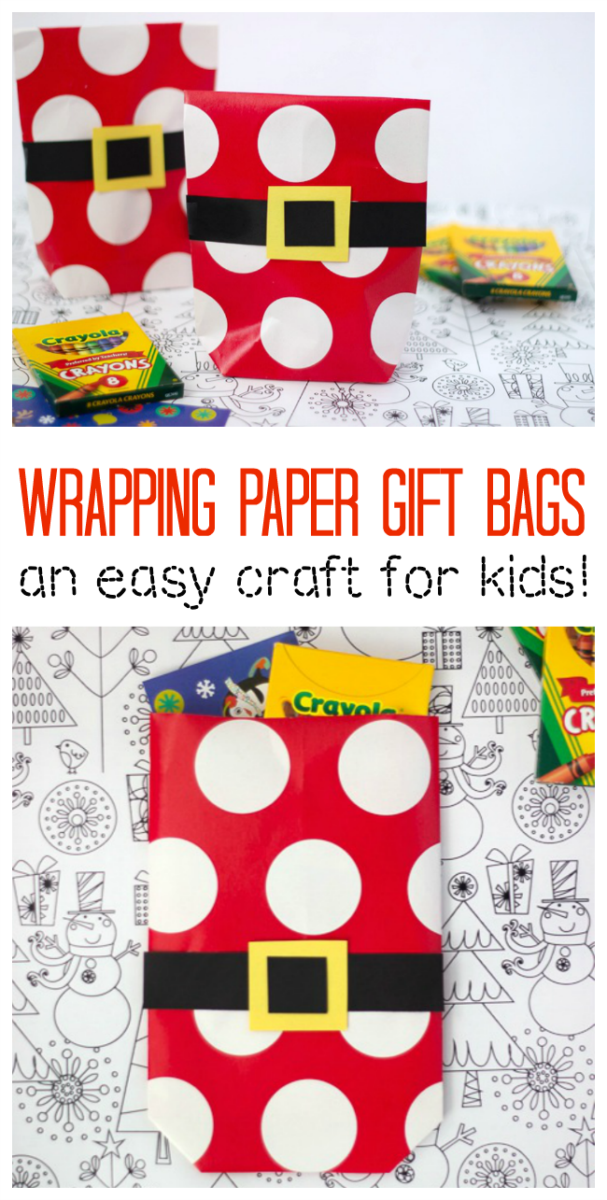 wrapping paper gift bags