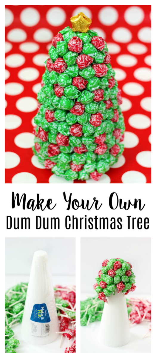 dum dum christmas tree tutorial