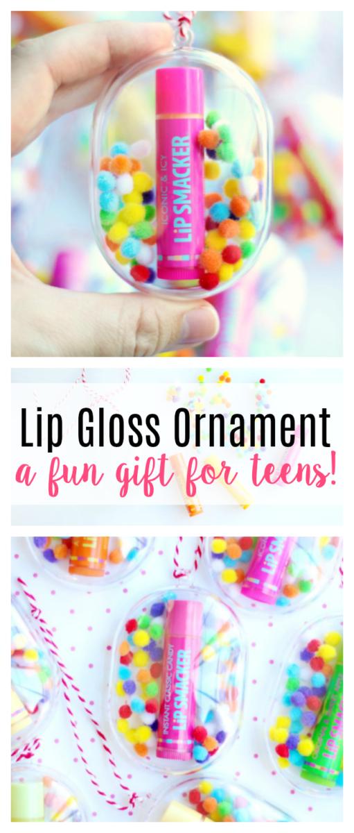 lip gloss ornaments for teens