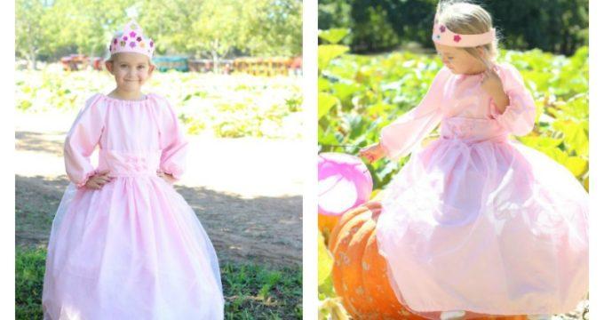 How to Make a Princess Dress and Tiara for Dress Up