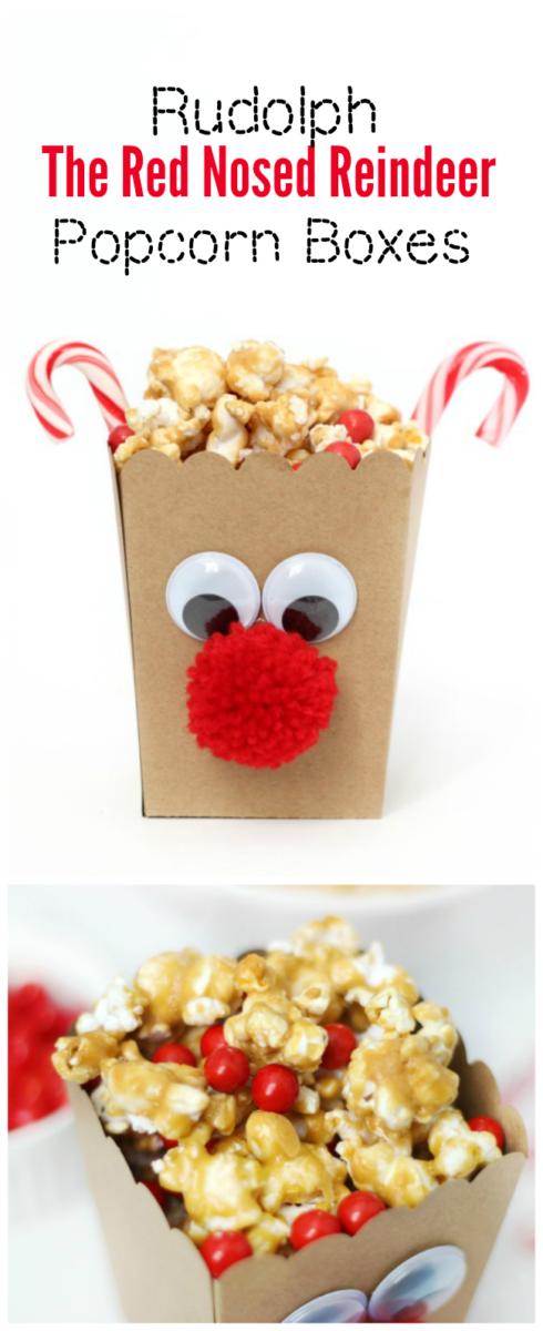 reindeer popcorn boxes