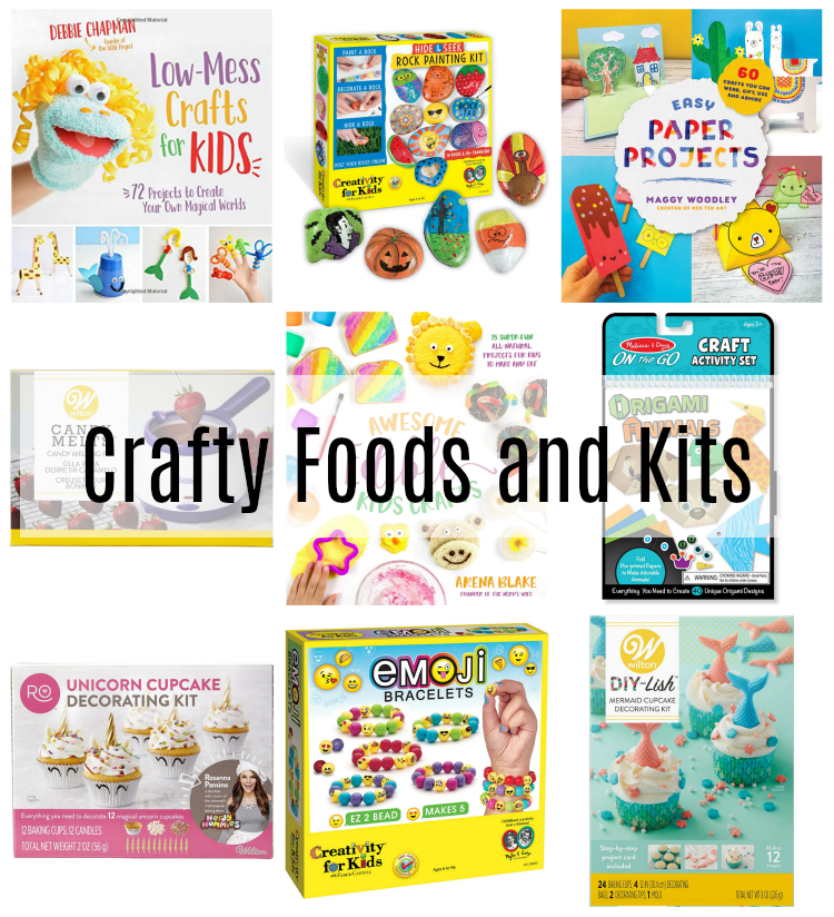 crafty foods and kits for kids