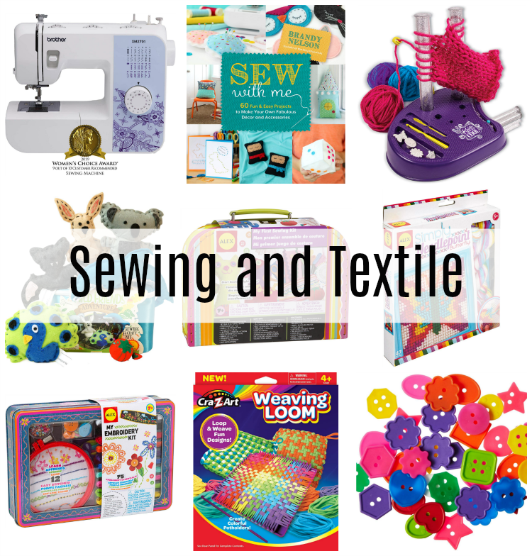 sewing and textile gifts for kids