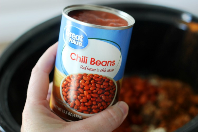 can of chili beans in sauce