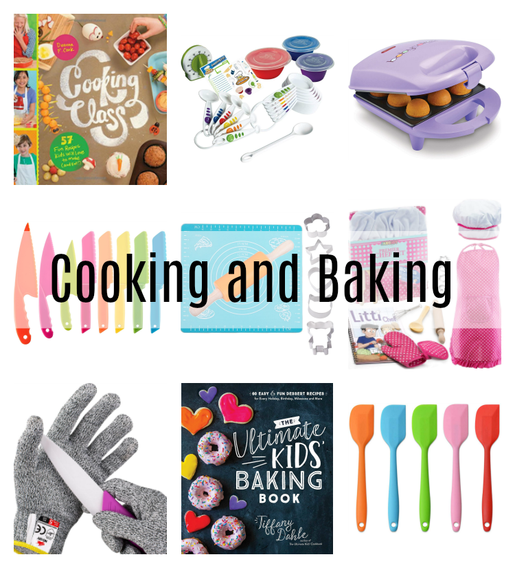 creative cooking and baking gifts for kids