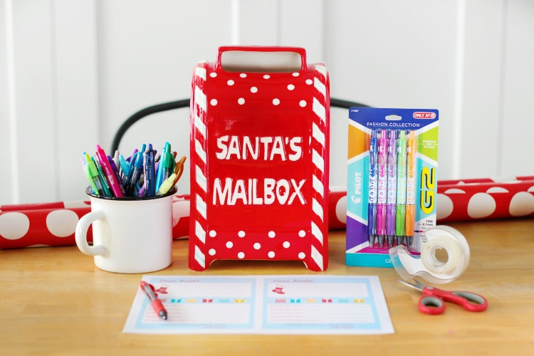 mailbox for printable letters to santa
