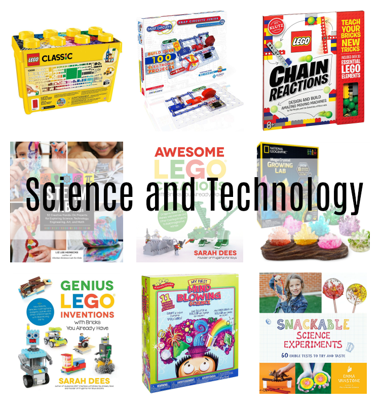 creative gift guide for kids science and technology gifts