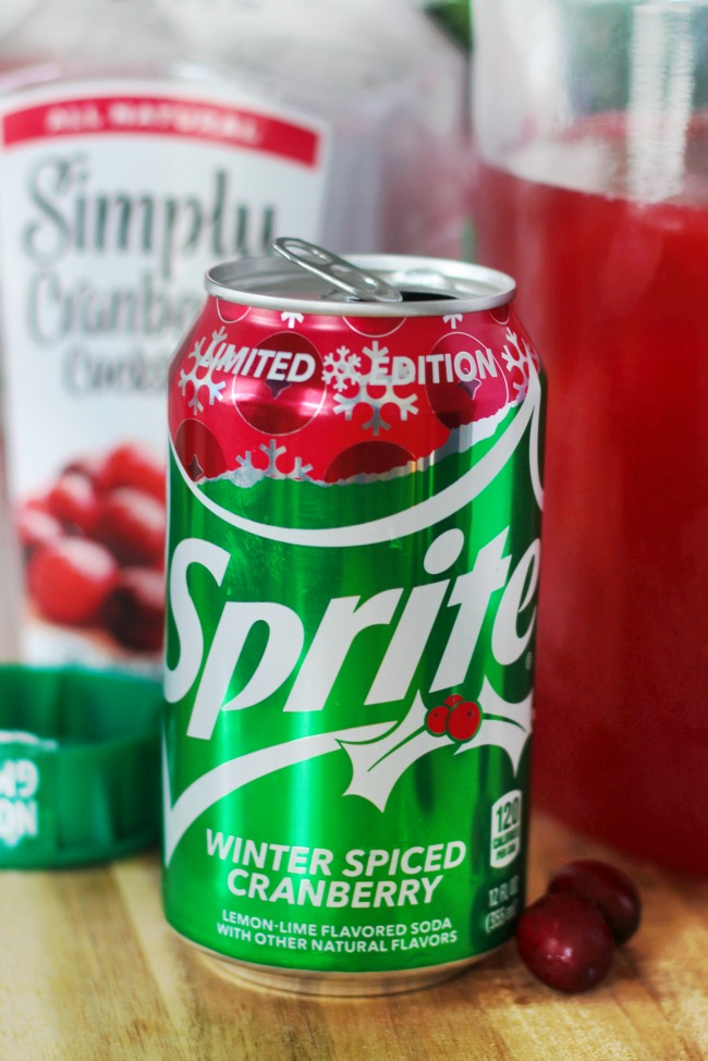 limited edition cranberry sprite for sparkling cranberry apple punch
