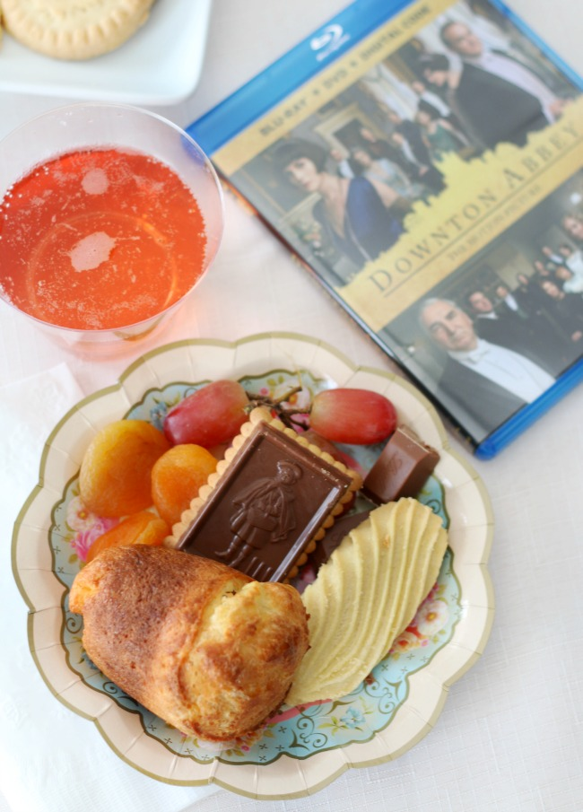 downton abbey snacks and desserts