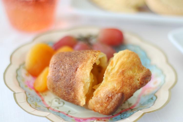 fresh baked popovers