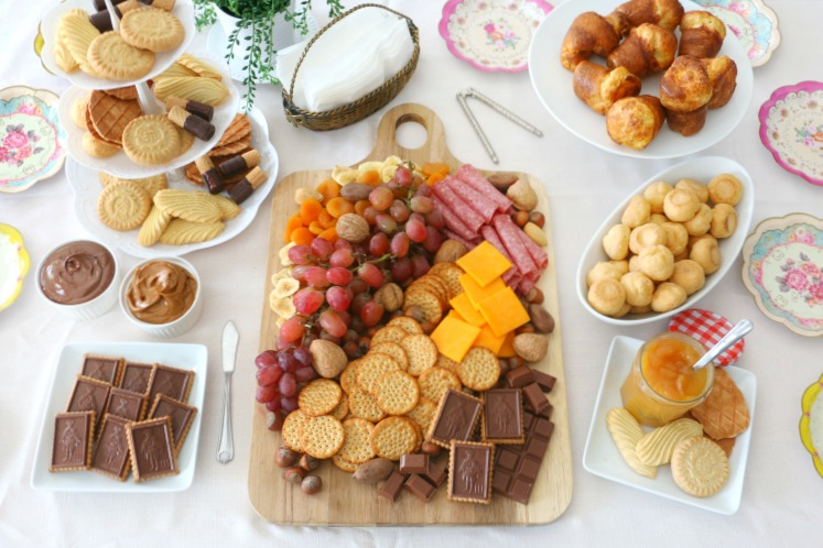 european dessert spread