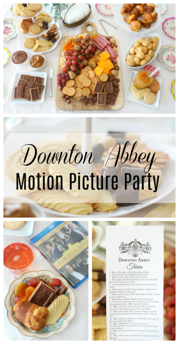 downton abbey motion picture party
