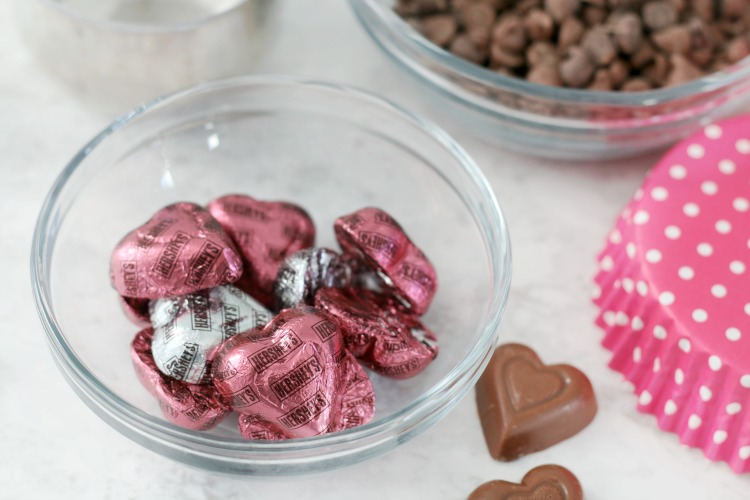 Hershey chocolate hearts