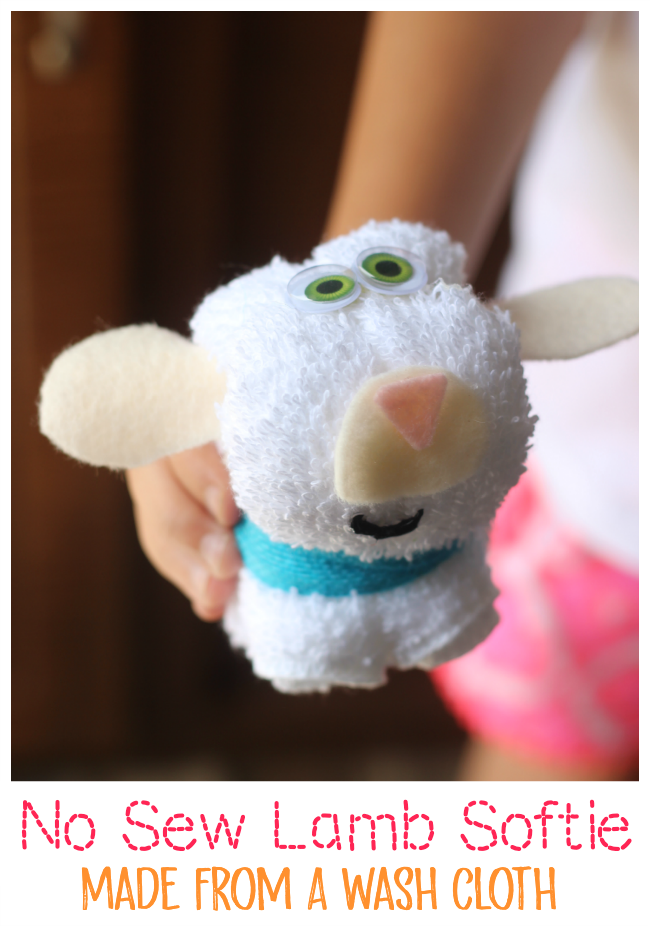 no sew lamb softie
