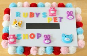 child's pet shop valentine box